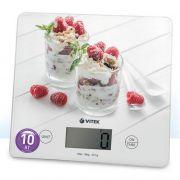 Весы VITEK-8034 кухонные электронные 10кг, стекло в интернет магазине Импульс, фото