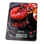Весы VITEK-8032 кухонные электронные 5кг, стекло в интернет магазине Импульс, фото