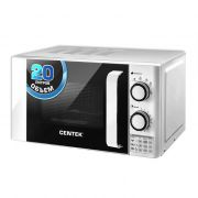 Печь СВЧ CENTEK CT-1585 20л, 700Вт, 6режимов, таймер,подсветка хромированные перекл. в интернет магазине Импульс, фото