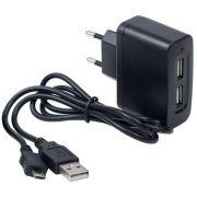 Зарядное устройство для Samsung G810 microUSB+гнездо 2USB AFKA-TECH AC-007(3,1A)(MRM-Power) в интернет магазине Импульс, фото