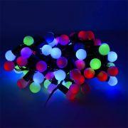 гирлянда 100 светодиод уличная 3цвета IP60 Шарики SE-BL-10100M 10 метров шн 1,5м в интернет магазине Импульс, фото