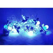 гирлянда 20 светодиод шар сине-белый в интернет магазине Импульс, фото