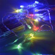 гирлянда 20 светодиод SE-RICE-320M(3 бат АА)рисовая прозрачная в интернет магазине Импульс, фото