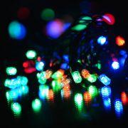 гирлянда 100 светодиод уличная 4цвета IP60 рисовая SE-RICE-10100M 10 метров шн 1,5м в интернет магазине Импульс, фото