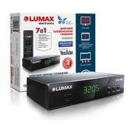 Ресивер цифрового эфирного ТВ LUMAX DV3205HD дисплей WI FI металический корпус HDMI в интернет магазине Импульс, фото
