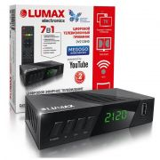 Ресивер цифрового эфирного ТВ LUMAX DV2120HDдиспл.4кноп.2кинозала,WIFI в интернет магазине Импульс, фото