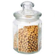 банка стеклянная с крышкой 0,6л для сыпуч.продуктов Mallony Lattina 004468 в интернет магазине Импульс, фото