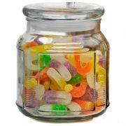 банка стеклянная с крышкой 0,75л для сыпуч.продуктов Mallony ARIA 004470 в интернет магазине Импульс, фото