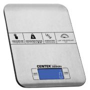 Весы кухонные CENTEK CT-2464 до 5кг/1г сталь, электр,сенсор,LCD,t в комнате в интернет магазине Импульс, фото