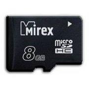 Память SD micro 8Gb MIREX класс 2/4 в интернет магазине Импульс, фото