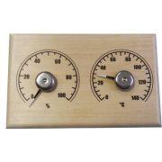 Термогигрометр СБО-2ТГ для сауны Станция банная открытая прямоугольник в интернет магазине Импульс, фото