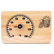 термометр для сауны СБО-2Т Станция банная открытая прямоугольник в интернет магазине Импульс, фото