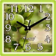 часы настенные квадрат 225*225мм М23 (490) в интернет магазине Импульс, фото