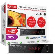 ресивер цифровой эфирный ТВ D-Color DC961HD DVB-T2 дисплей в интернет магазине Импульс, фото