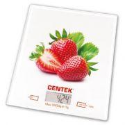 весы кухон. CENTEK CT-2462 Клубника до 5кг/1г стекло, электр, LCD,шелкография в интернет магазине Импульс, фото