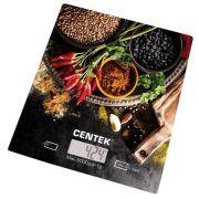 весы кухон. CENTEK CT-2462 Специи до 5кг/1г стекло, электр, LCD,шелкография в интернет магазине Импульс, фото