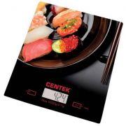 весы кухон. CENTEK CT-2462 Суши до 5кг/1г стекло, электр, LCD,шелкография в интернет магазине Импульс, фото