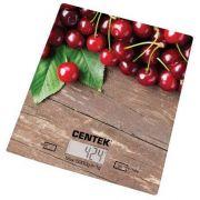 весы кухон. CENTEK CT-2462 Вишня до 5кг/1г стекло, электр, LCD,шелкография в интернет магазине Импульс, фото