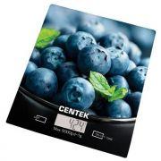 весы кухон. CENTEK CT-2462 Голубика до 5кг/1г стекло, электр, LCD,шелкография в интернет магазине Импульс, фото