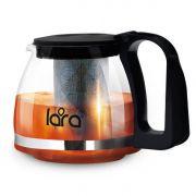 чайник LARA LR06-07 заварочный ,стекл., 0,7л в интернет магазине Импульс, фото