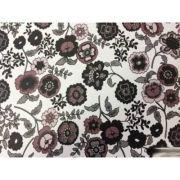 пленка самоклеющаяся 45см/8м темный цветочный узор на белом 8312 в интернет магазине Импульс, фото