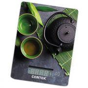 весы кухон. CENTEK CT-2457 Green tea до 5кг/1г стекло,электронные, LСD в интернет магазине Импульс, фото
