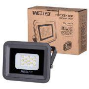 прожектор LED WFL-10W/06 10Вт SMD IP65 WOLTA черный/серый в интернет магазине Импульс, фото