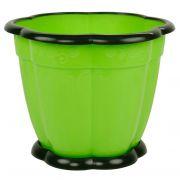 горшок цв. Восторг 3л с поддоном (зелен) М1219 в интернет магазине Импульс, фото