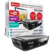 Ресивер цифрового эфирного ТВ D-Color DC610HD DVB-T2 в интернет магазине Импульс, фото
