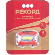 фонарь аккумуляторный светод. РЕКОРД SH-350 2Вт светод в интернет магазине Импульс, фото