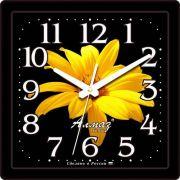 часы настенные квадрат 225*225мм М22 (435) в интернет магазине Импульс, фото