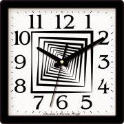 часы настенные квадрат 225*225мм М28 в интернет магазине Импульс, фото