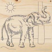 доска для выжигания Слон REXANT 12-0925 в интернет магазине Импульс, фото