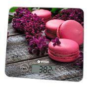 весы VITEK-8003 кухонные электронные 10кг, стекло в интернет магазине Импульс, фото