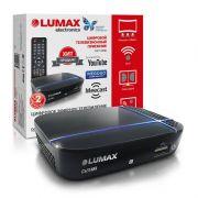 Ресивер цифрового эфирного ТВ LUMAX DV1115HD WI FI,+C кабельн DOLBY,3,5 Jack,HDMI в интернет магазине Импульс, фото