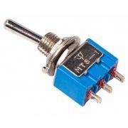 тумблер 250V 3A 3c ON/OFF/ON 1-полюс Micro REXANT 36-4011 в интернет магазине Импульс, фото