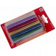 термоклей 11*100мм цветной с блестками REXANT 09-1235 (12) в интернет магазине Импульс, фото