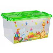 контейнер для игрушек 50л прямоугольный М6781 в интернет магазине Импульс, фото