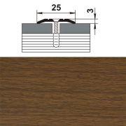 профиль стыкоперекрывающий ПС 01.1800.088 25мм,орех (1341) в интернет магазине Импульс, фото