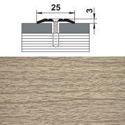 профиль стыкоперекрывающий ПС 01.900.087 25мм,дуб беленый (1461) в интернет магазине Импульс, фото