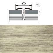 профиль стыкоперекрывающий ПС 01.900.089 25мм,клен беленый (1730) в интернет магазине Импульс, фото