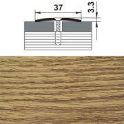профиль стыкоперекрывающий ПС 03.900.084 37мм,дуб универсал (1383) в интернет магазине Импульс, фото