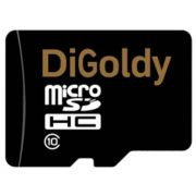 Память SD micro 8Gb DiGoldy класс 10 в интернет магазине Импульс, фото