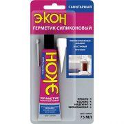 Герметик ЭКОН силикон санитар белый 75мл Хенкель 24518 в интернет магазине Импульс, фото