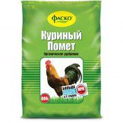 Удобрение ФАСКО Куриный помет 0,8кг в интернет магазине Импульс, фото