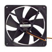 Вентилятор для ПК (кулер) Gembird S(D)14025H(HM)-3p4M 140х140х25 гидродинам.3/4pin,Molex,40см в интернет магазине Импульс, фото
