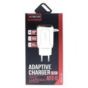 З/уст (с/шн) AOMOSI 521 micro USB 2.1А 1USB Quick Charging в интернет магазине Импульс, фото