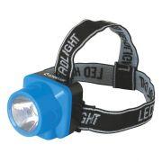 Фонарь ULTRAFLASH LED 5374 1LED, налобный, аккум, 1режим,пластик в интернет магазине Импульс, фото