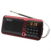 Радиоприемник Luxe Bass LB-A51(FM,AM,SW) USB,SD,LED дисплей в интернет магазине Импульс, фото