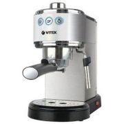 Кофеварка VITEK-1515 1050W рожкового типа, д/молот.кофе, 1,5л,капучинатор в интернет магазине Импульс, фото